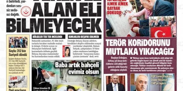 Günün Ulusal Gazete Manşetleri - 19 02 2019
