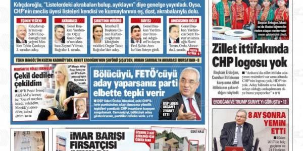 Günün Ulusal Gazete Manşetleri - 22 02 2019