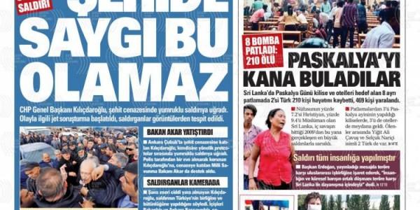 Günün Ulusal Gazete Manşetleri - 22 04 2019