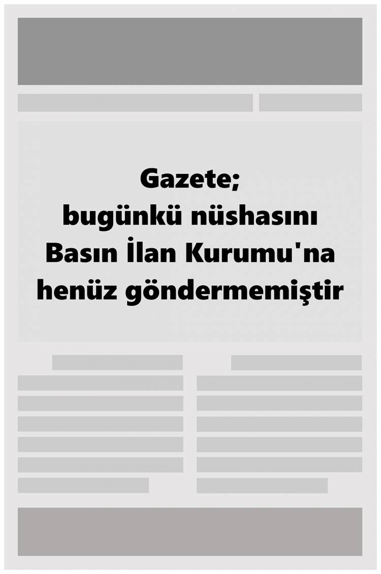 Günün Ulusal Gazete Manşetleri - 08 05 2019 1