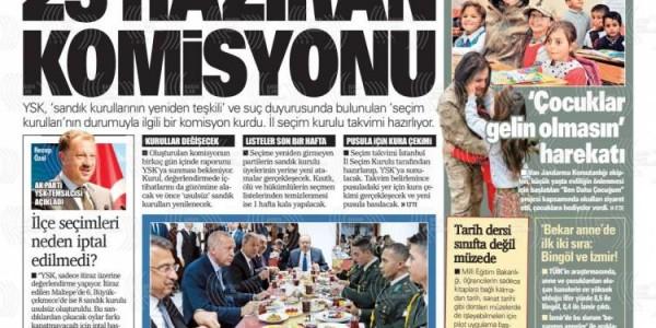 Günün Ulusal Gazete Manşetleri - 09 05 2019
