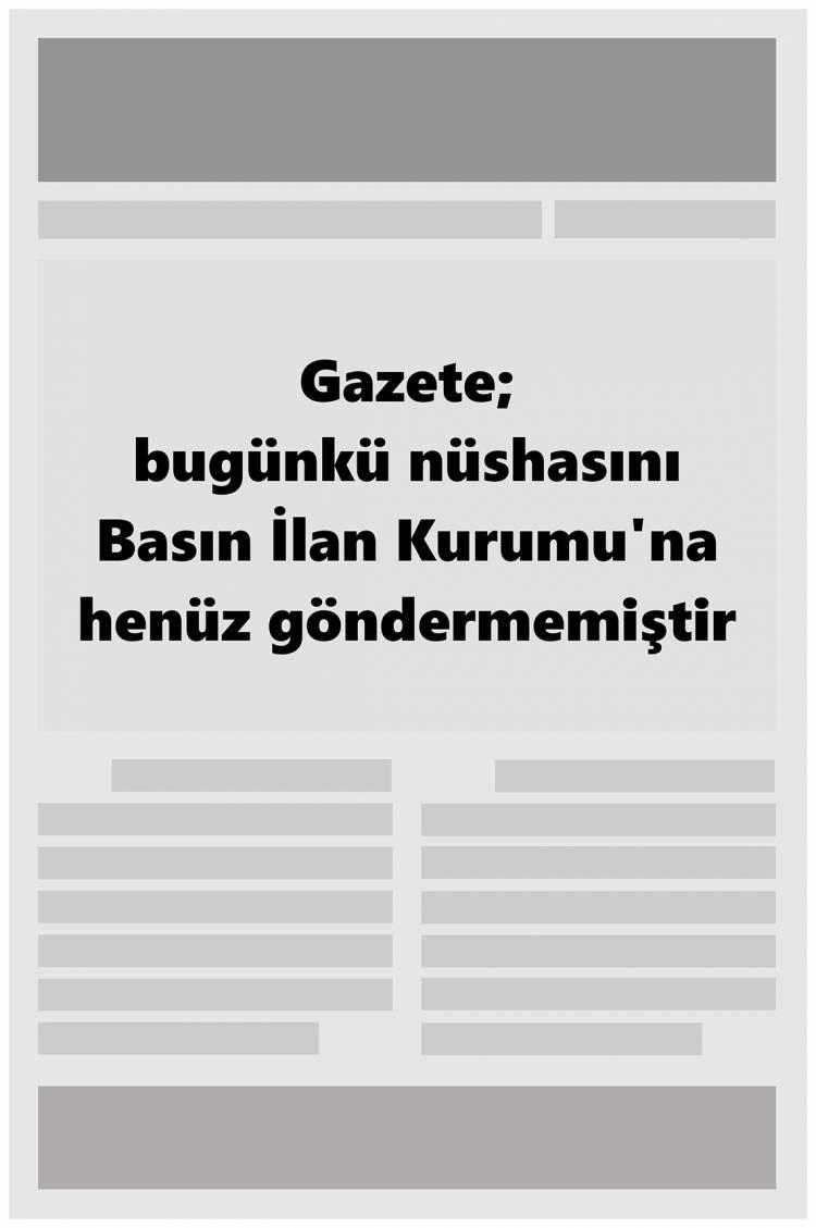 Günün Ulusal Gazete Manşetleri - 13 05 2019 1