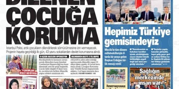 Günün Ulusal Gazete Manşetleri - 22 05 2019