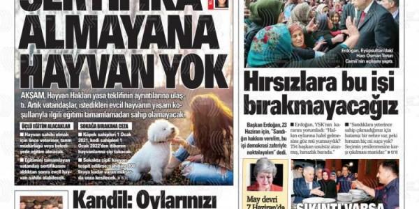 Günün Ulusal Gazete Manşetleri - 25 05 2019