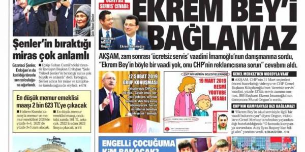 Günün Ulusal Gazete Manşetleri - 30 08 2019
