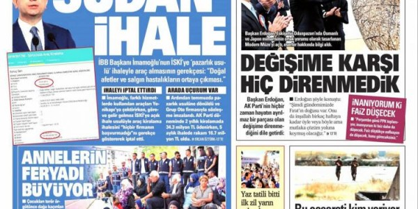Günün Ulusal Gazete Manşetleri - 08 09 2019