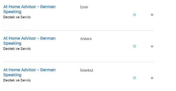 Apple, Türkiye'de evden çalışacak elemanlar arıyor 1