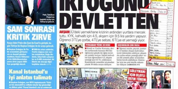 Günün Ulusal Gazete Manşetleri - 08 01 2020