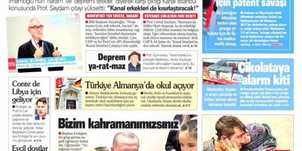 Günün Ulusal Gazete Manşetleri - 11 01 2020