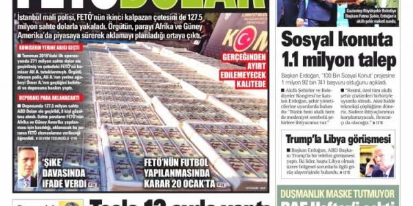 Günün Ulusal Gazete Manşetleri - 16 01 2020