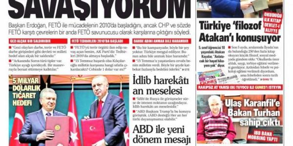 Günün Ulusal Gazete Manşetleri - 20 02 2020