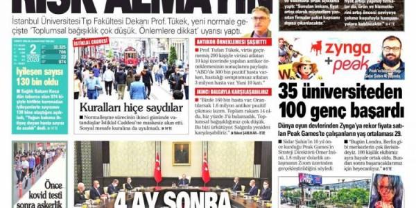 Günün Ulusal Gazete Manşetleri - 03 06 2020