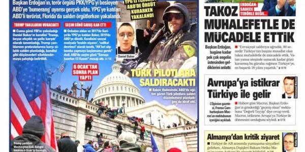 Günün Ulusal Gazete Manşetleri - 17 01 2021