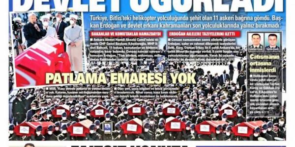 Günün Ulusal Gazete Manşetleri - 06 03 2021