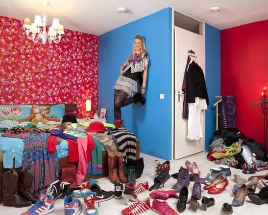 Dünya kadınlarının yatak odaları 7