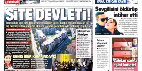 Günün Ulusal Gazete Manşetleri - 24 03 2021