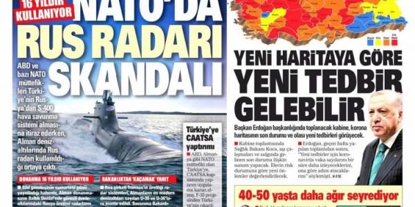 Günün Ulusal Gazete Manşetleri - 29 03 2021