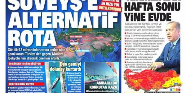 Günün Ulusal Gazete Manşetleri - 30 03 2021