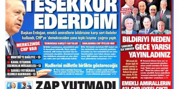 Günün Ulusal Gazete Manşetleri - 06 04 2021