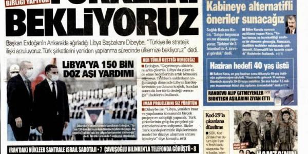 Günün Ulusal Gazete Manşetleri - 13 04 2021