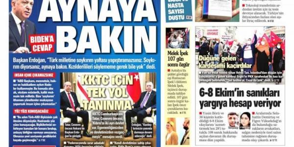 Günün Ulusal Gazete Manşetleri - 27 04 2021