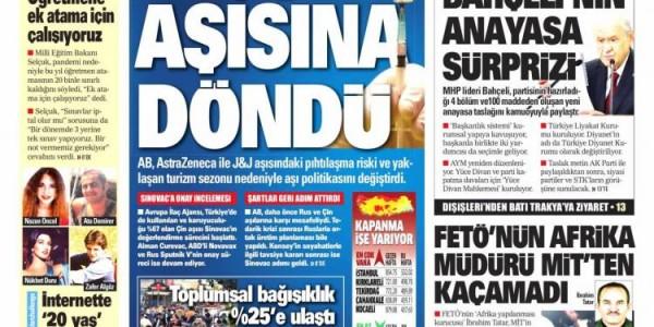 Günün Ulusal Gazete Manşetleri - 05 05 2021