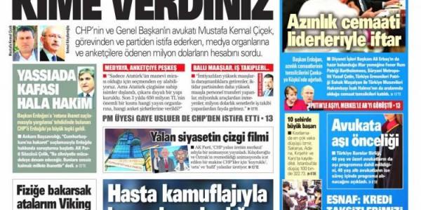 Günün Ulusal Gazete Manşetleri - 06 05 2021