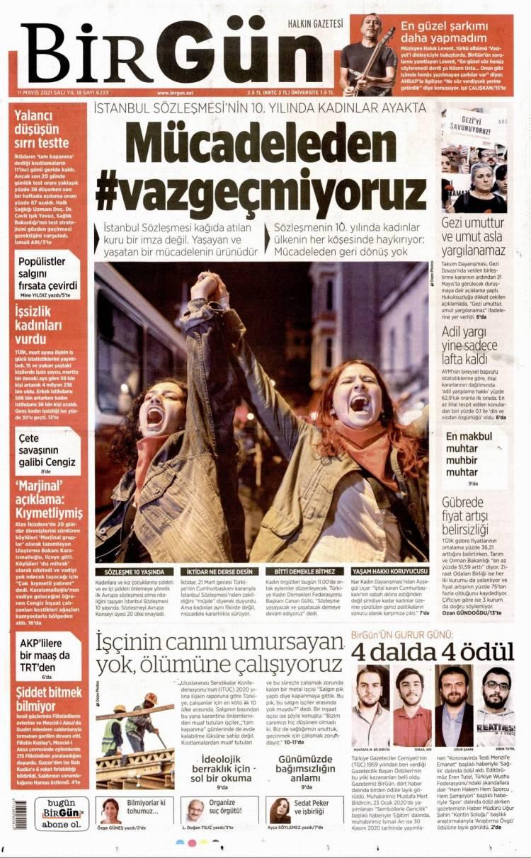 Günün Ulusal Gazete Manşetleri - 11 05 2021 3
