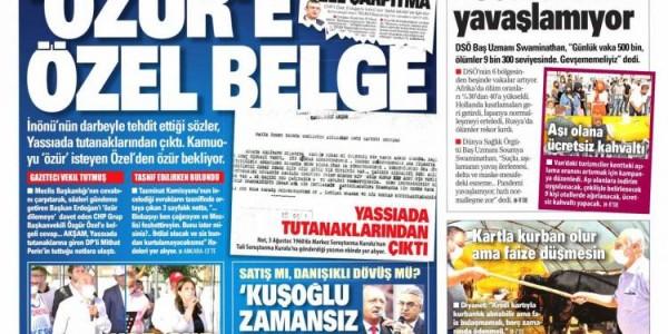 Günün Ulusal Gazete Manşetleri - 11 07 2021