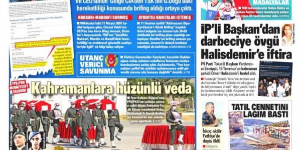 Günün Ulusal Gazete Manşetleri - 26 07 2021