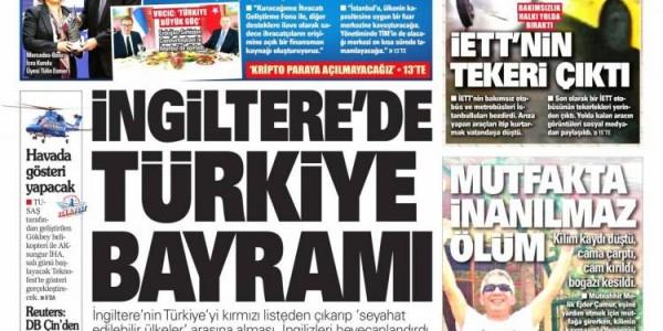 Günün Ulusal Gazete Manşetleri - 19 09 2021