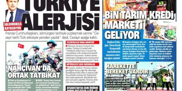 Günün Ulusal Gazete Manşetleri - 04 10 2021