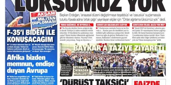 Günün Ulusal Gazete Manşetleri - 22 10 2021