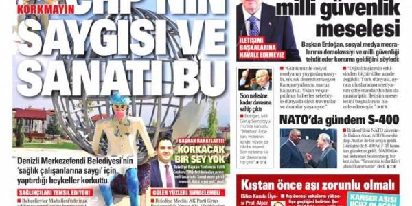 Günün Ulusal Gazete Manşetleri - 23 10 2021