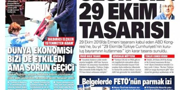 Günün Ulusal Gazete Manşetleri - 24 10 2021