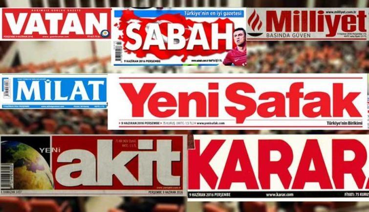 İşte gazetelerin saklanan tirajları 1