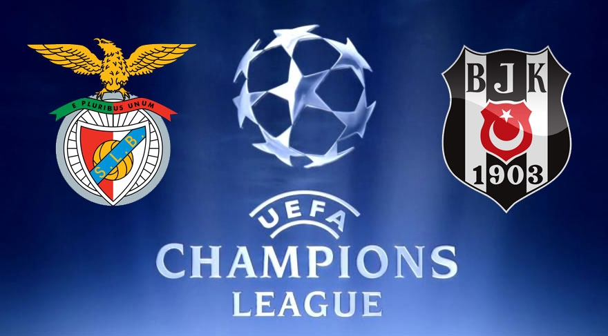 Benfica Beşiktaş maçı hangi kanalda, kaçta 1