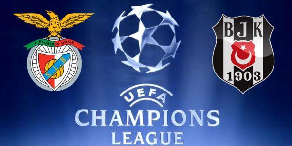 Benfica Beşiktaş maçı hangi kanalda, kaçta
