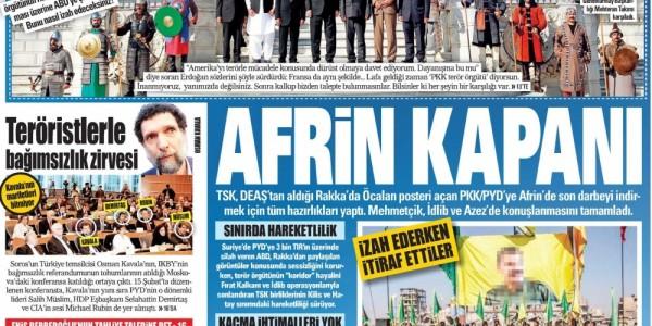 Günün Ulusal Gazete Manşetleri - 21 10 2017