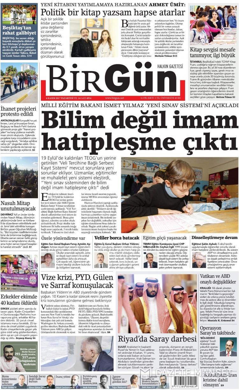 Günün Ulusal Gazete Manşetleri - 06 11 2017 3