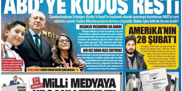 Günün Ulusal Gazete Manşetleri - 06 12 2017