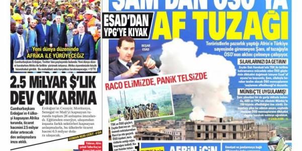 Günün Ulusal Gazete Manşetleri - 04 03 2018