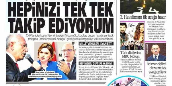 Günün Ulusal Gazete Manşetleri - 06 03 2018