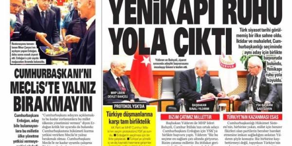 Günün Ulusal Gazete Manşetleri - 05 05 2018