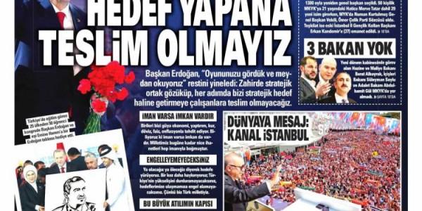 Günün Ulusal Gazete Manşetleri - 19 08 2018
