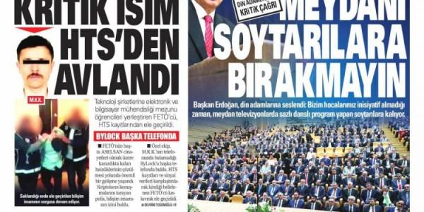 Günün Ulusal Gazete Manşetleri - 16 10 2018