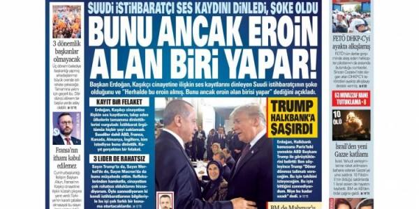 Günün Ulusal Gazete Manşetleri - 13 11 2018