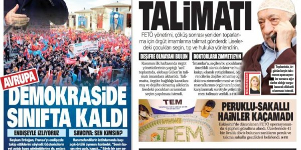 Günün Ulusal Gazete Manşetleri - 09 12 2018