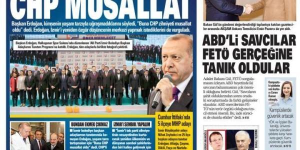 Günün Ulusal Gazete Manşetleri - 06 01 2019