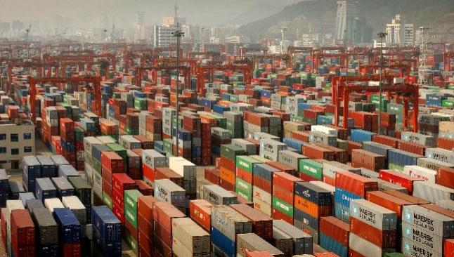 Çin'de aylık ihracat 195.4 milyar dolar